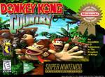 Donkey Kong snes cover art by tonatello
