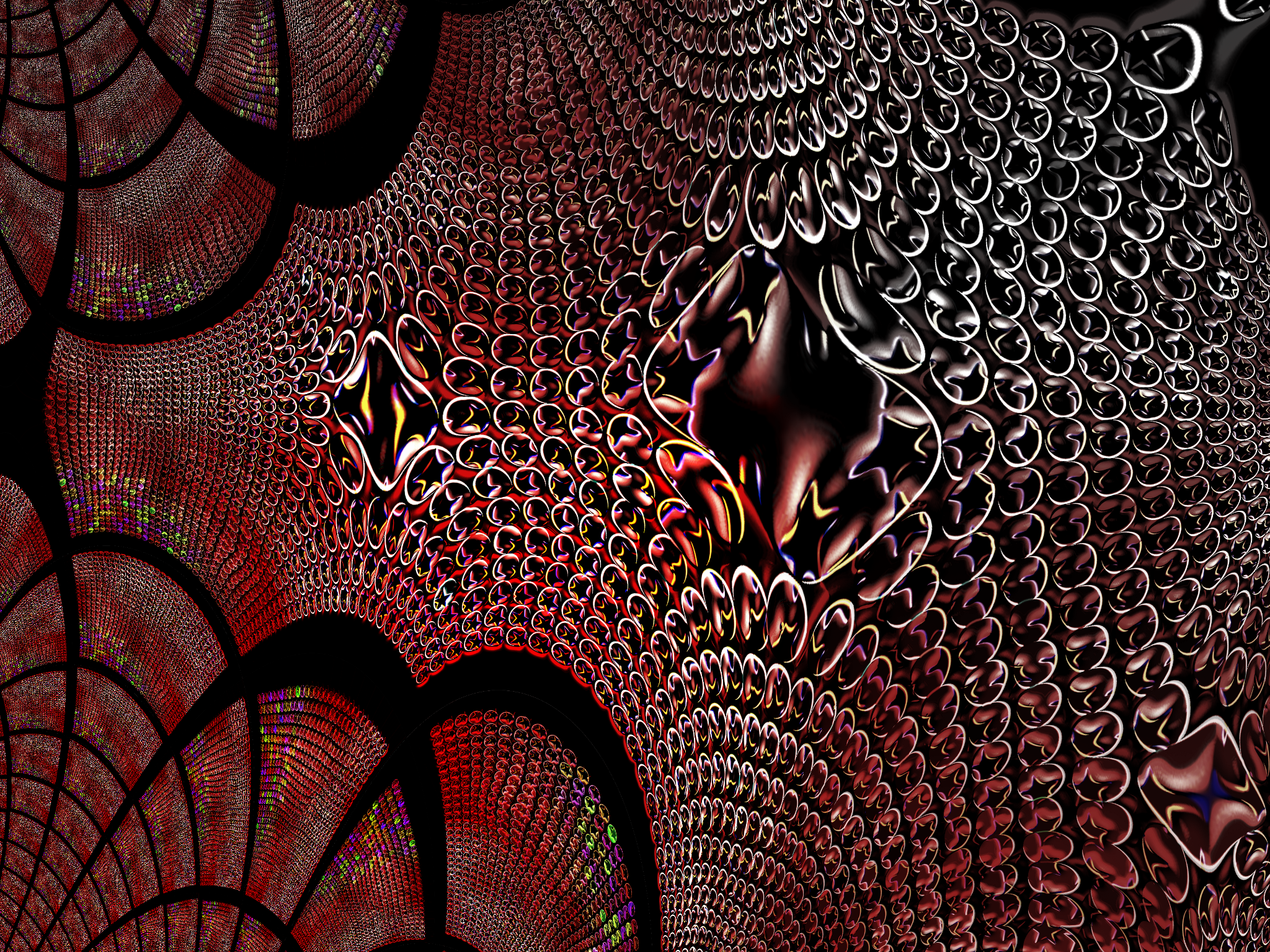 Experiment 1 - Fractal by PomPrint