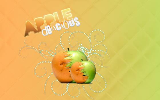 Wall apple by star-mari