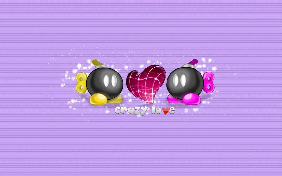 Crazy Love Purple Wall by star-mari