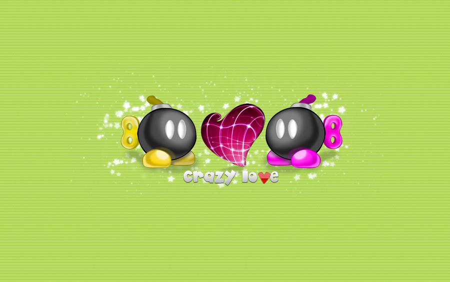 Crazy Love Gray Wall by star-mari