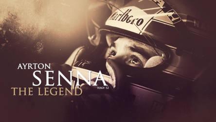 Ayrton Senna 12 by Icemntogy