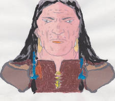 SIOUX WARRIOR by RighiCarlo