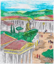 ANCIENT GREECE 4 by RighiCarlo