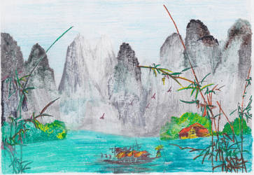 SEAS OF CHINA 2 by RighiCarlo