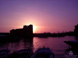 Jbeil Sunset by Nxriot