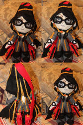Bayonetta Plush by SuperSmashPlushTeam