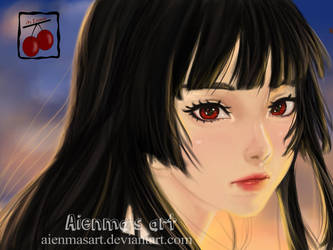 Enma Ai, jigoku shoujo by AienmasArt