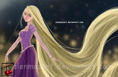 Rapunzel by AienmasArt