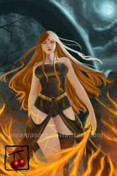 Fire Element by AienmasArt