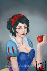 Snow White by AienmasArt