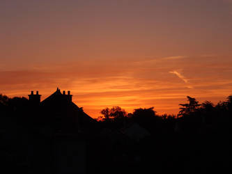 morning sky by lucie-marie