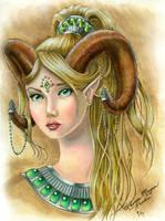 Emerald Mystic by claidis