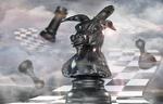 Chess Knight by latenightrabbit