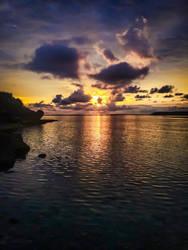 Sunset on Okinawa by Natures-Studio