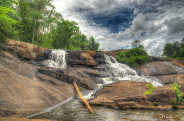 High Falls State Park Waterfalls by Natures-Studio
