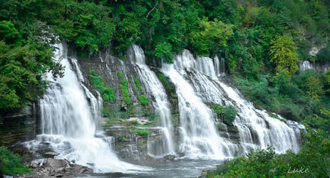 Rock Island State Park: Twin Falls by Natures-Studio