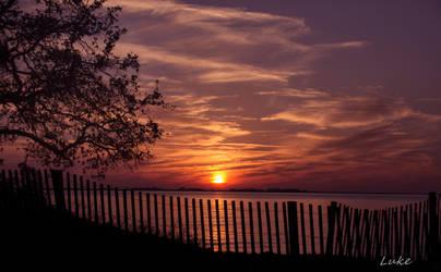 Jekyll Island Sunset by Natures-Studio