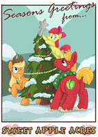 Seasons Greetings from Sweet Apple Acres by SpainFischer