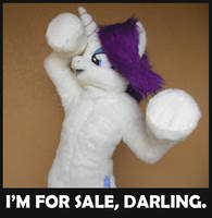 LAST DAY TO BID on Rarity Cosplay Costume! by SpainFischer