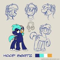 Bronycon Mascot Entry - Hoof Beatz by SpainFischer