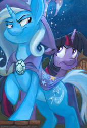 The Smug and Arrogant Trixie by SpainFischer