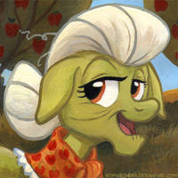 Square Series - Granny Smith by SpainFischer