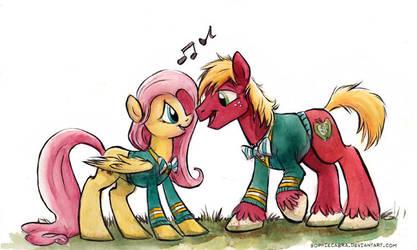 Sketch - Pony Tones by SpainFischer