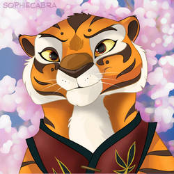 Fan Favorites Series #13 - Master Tigress by SpainFischer