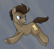 Dr. Whooves Doodle by SpainFischer