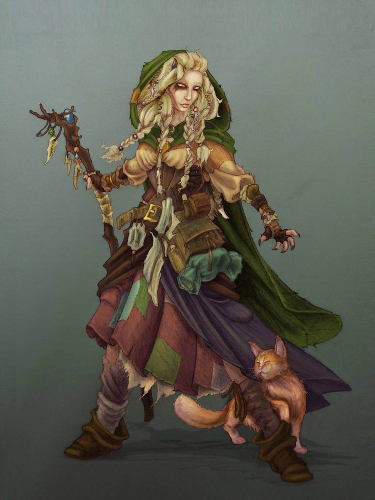 Blonde elf d&d