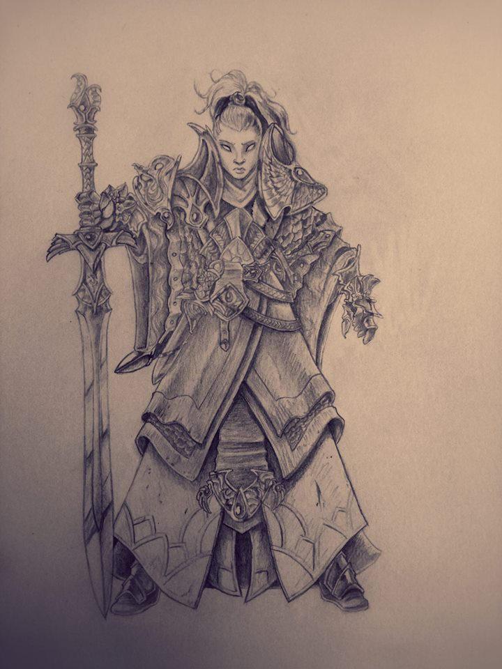 HighElf Swordmaster by NatteRavnen