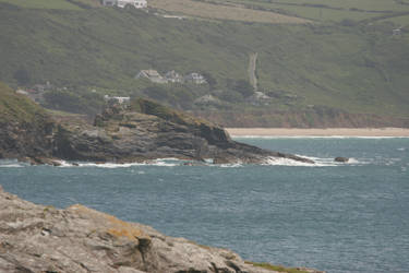 SAN07 11 Cornish Seashore by Amarli-stock
