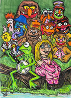 The Muppets by Painsmash