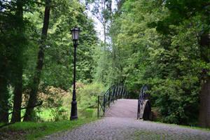 Park Path by feainne-stock