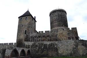 Castle in Bedzin by feainne-stock