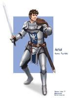 C: Artos, Knight by bchart