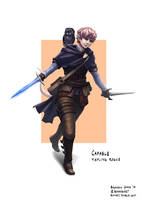 Capable, Tiefling Rogue by bchart