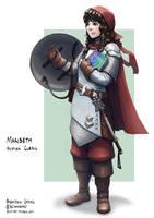 C: Maribeth, Human Cleric by bchart