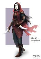 C: Zora, Vampire Rogue by bchart