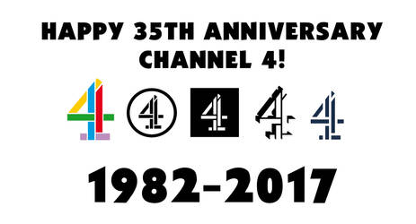 Happy 35th Anniversary Channel 4! by MrAlexEdoh