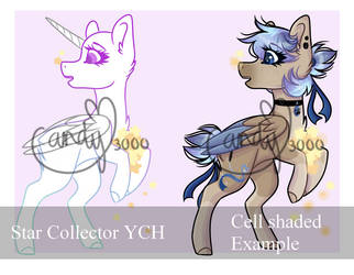 Star collector YCH [OPEN 4/6 slots] by CandyCrusher3000