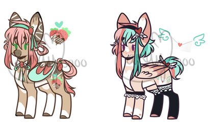 Valentines Day adopts Auction [0/2 CLOSED] by CandyCrusher3000
