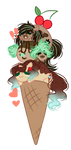 Minty Trio (Base edit) by CandyCrusher3000