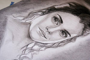 OLD Emma watson drawing by Ctinaa
