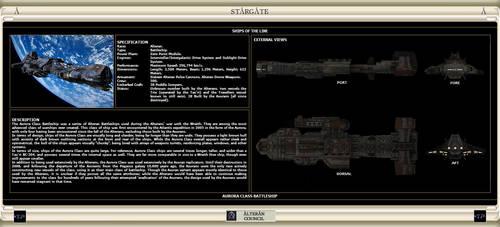 Aurora Class Battleship by IanKeenanArts