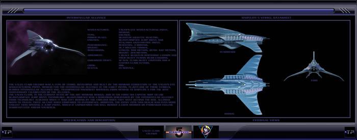 Valen Class Cruiser by IanKeenanArts