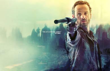 Walking Dead : Rick Grimes by Pistonsboi