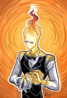 Grillby by d0nkarnage