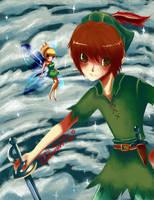 Peter Pan by orenji-no-ame